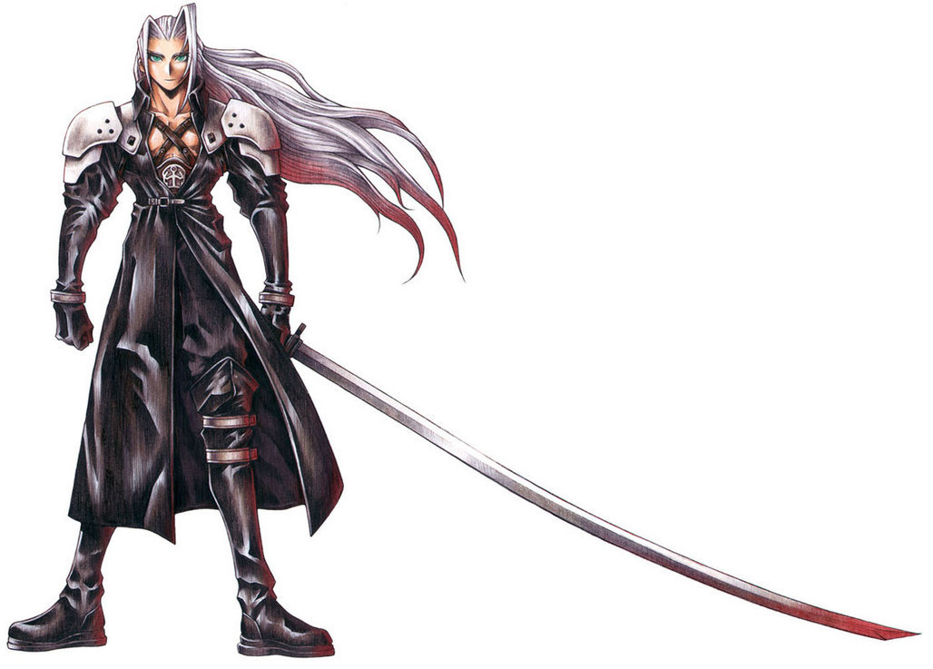 Sephiroth Sword A wide picture