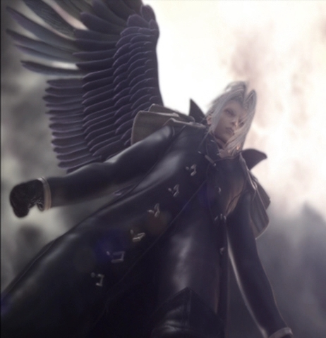 Sephiroth With One Wing This pi