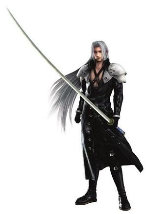 Crisis Core Sephiroth Sephiroth