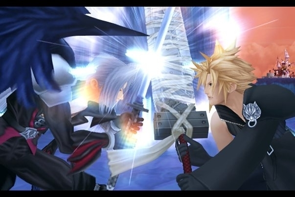 KH2 Cloud Sephiroth This pictur