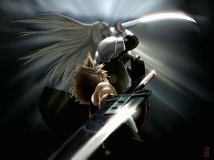 Sephiroth Cloud Sephiroth desce