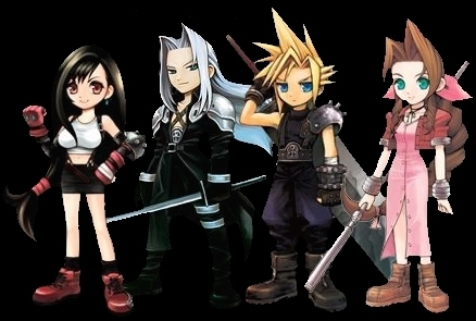 Final Fantasy 7 Group This is a