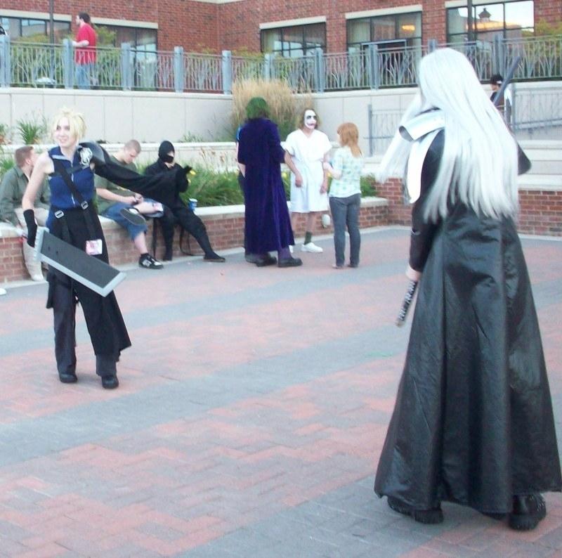 Sephiroth Versus Cloud Sephirot