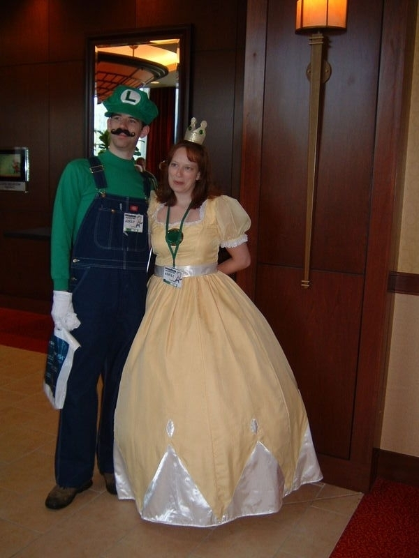 Luigi and Princess Luigi and Pr