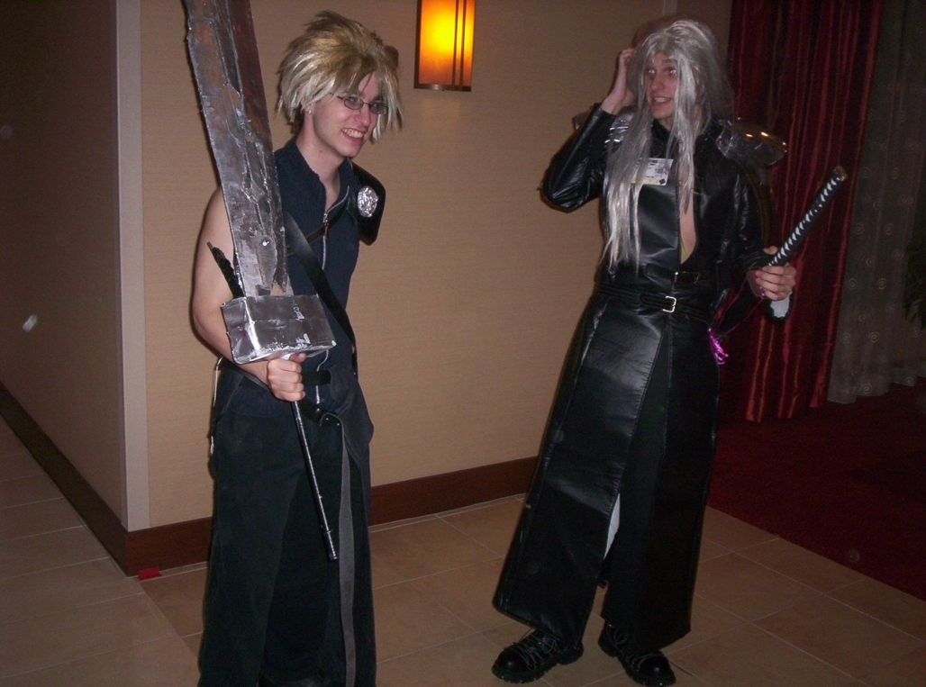 Sephiroth and Cloud Sephiroth a