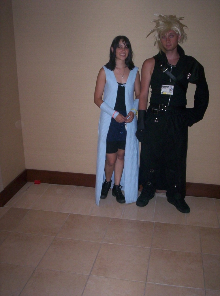 Cloud and Rinoa Cloud and Rinoa