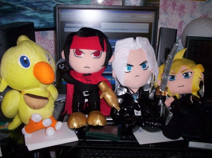 Final Fantasy Plushies Final Fa
