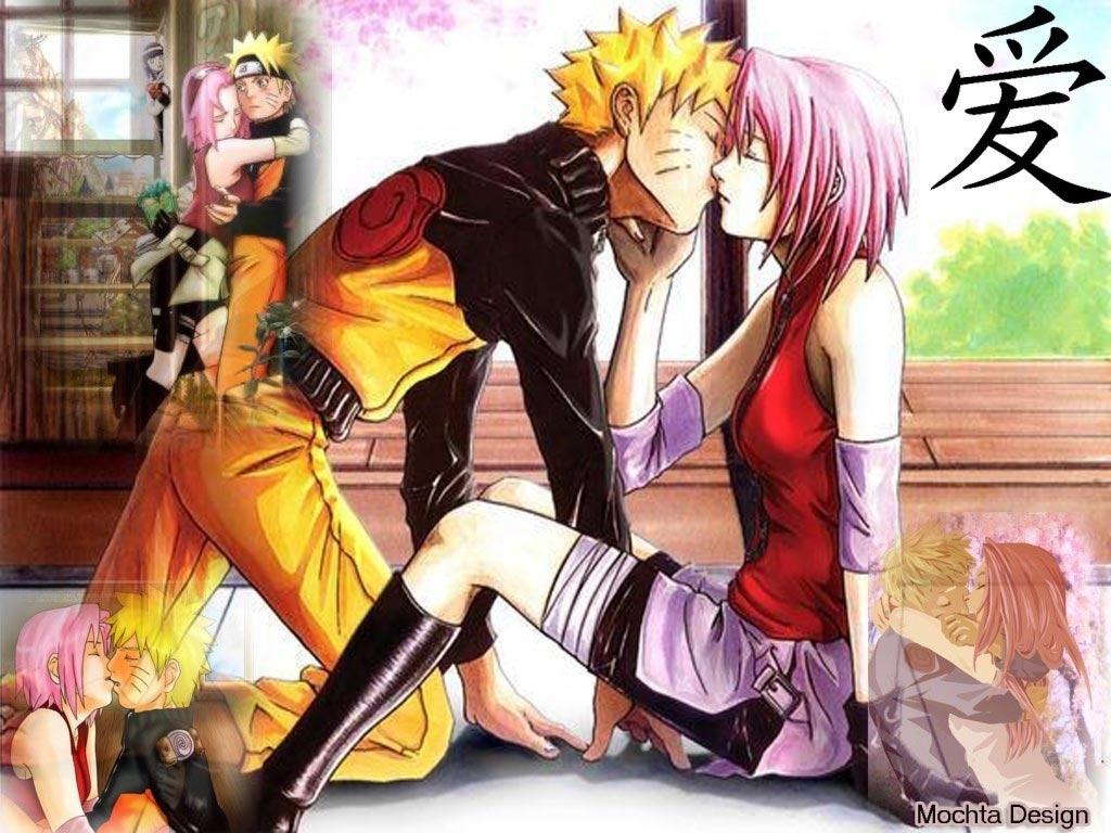 Naruto Kissing Sakura Artful, t