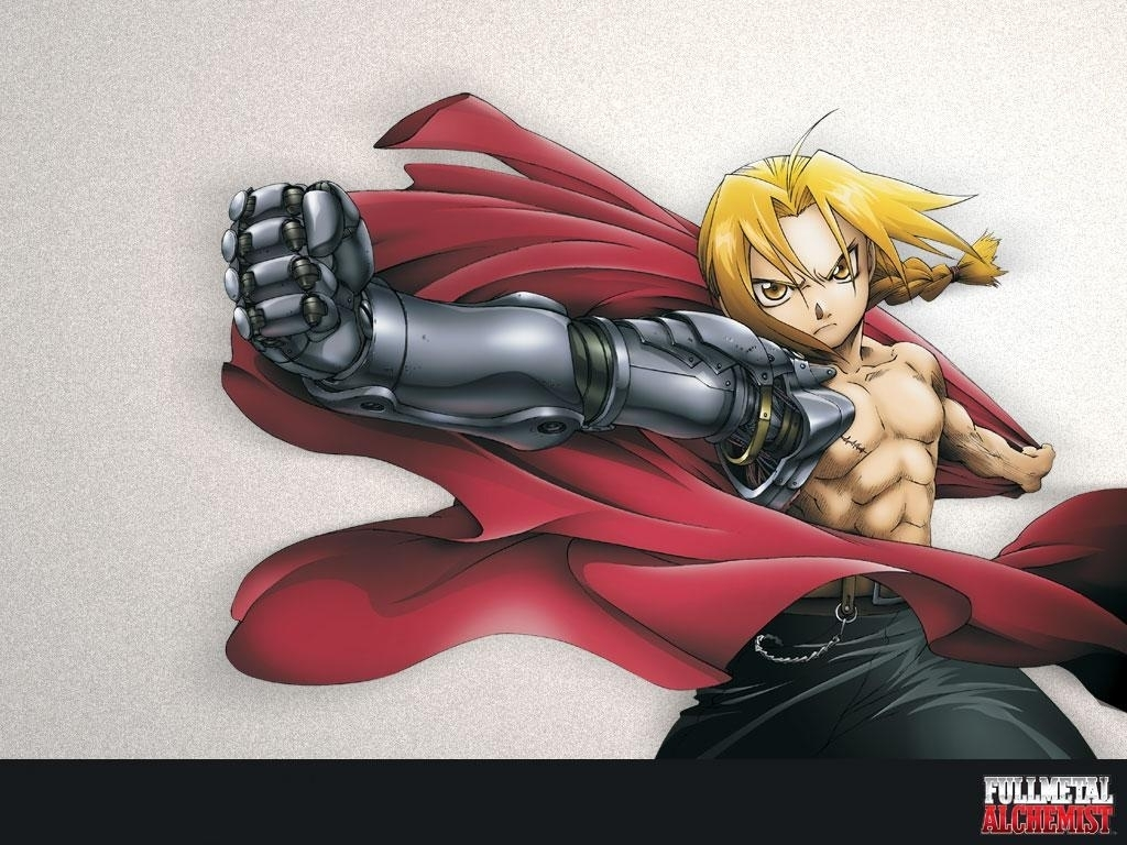 Full Metal Alchemist Edward Elr