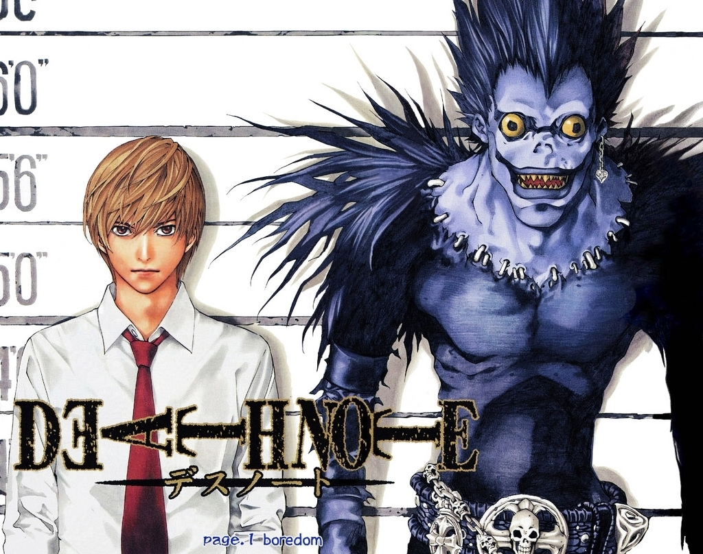 Ryuk and Light Mugshot for Ryuk