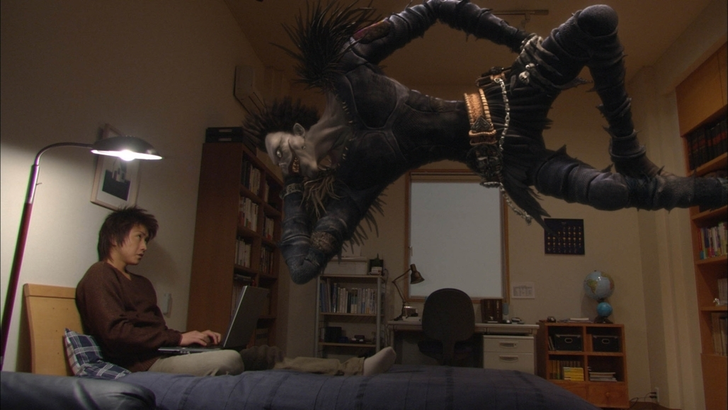 Ryuk Hovering Live action death