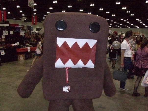 Domo at Anime Expo 2009 Anime E