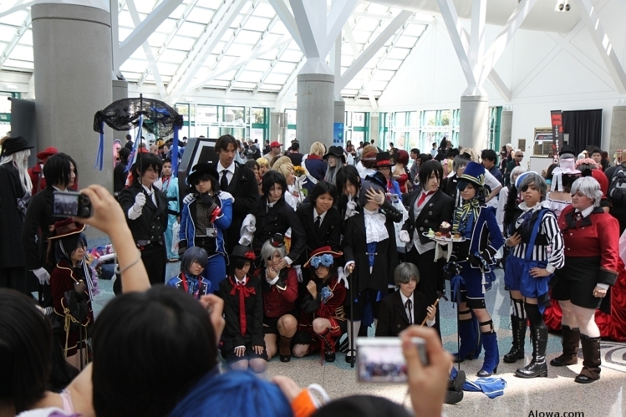 AX 2009 Cosplayers Picture AX 2