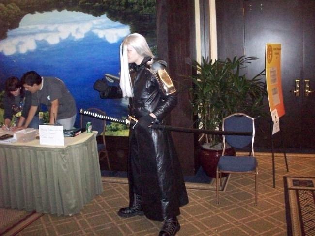 Sephiroth at Anime Festival Orl
