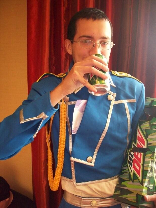 AnimeIowa 2009 Hughes Sama. Ani