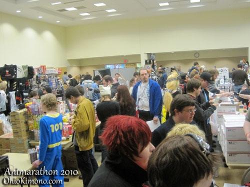 Animarathon 2010 Vendor Room Th