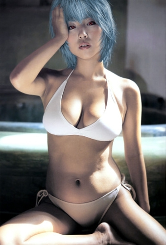 Rei Ayanami Almost looks like s