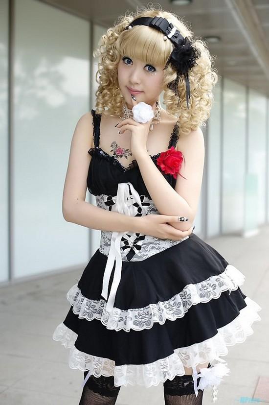 Cute Maid Girl This super cute