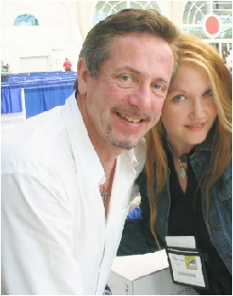 with Clive Barker...