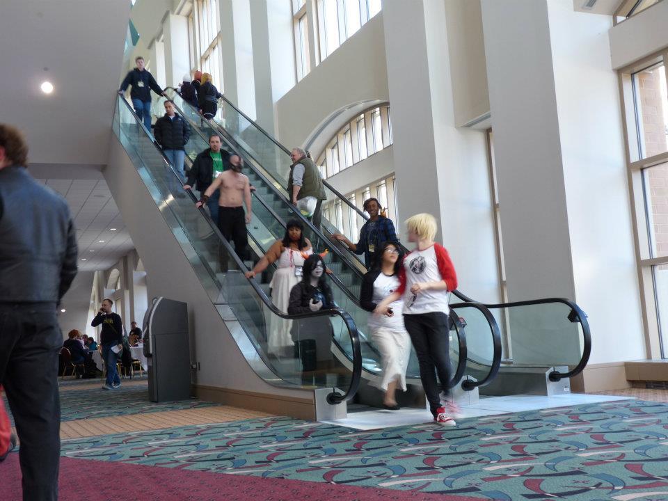 Escalator shot