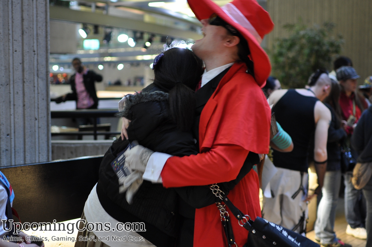 Alucard hugs