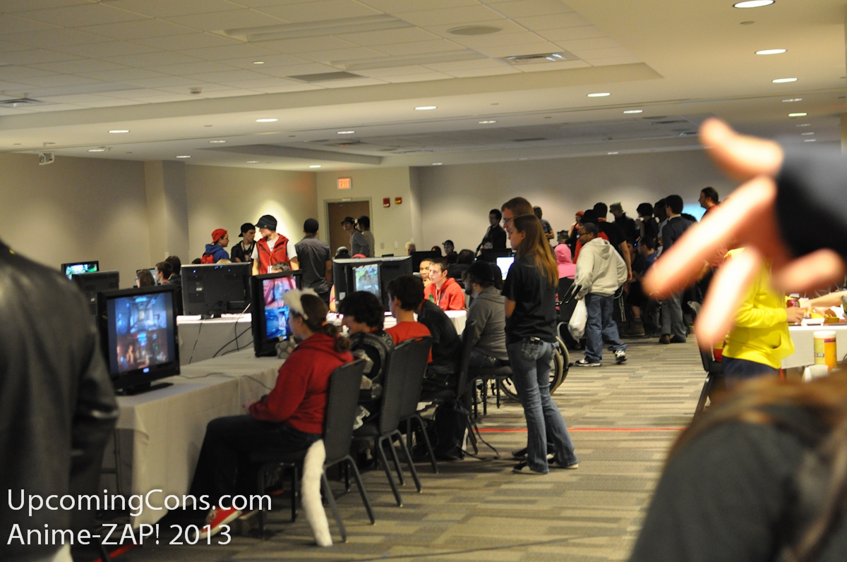 Gaming Room at Ohayocon Tons of