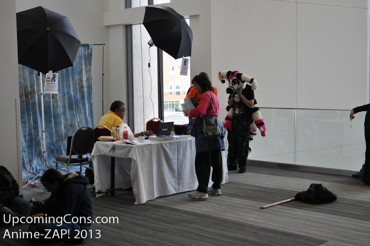 A Fans View Booth
