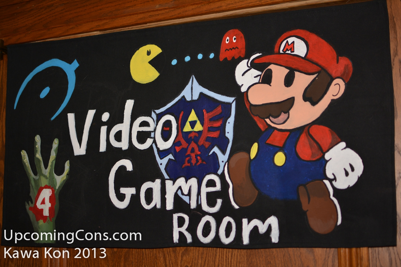 Video Game Room Sign