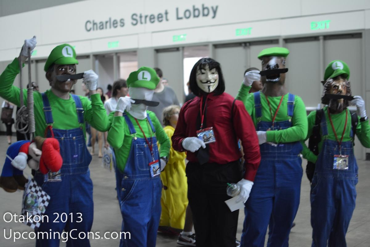 It's Luigi