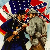 Civil war soldiers union confederate big thumb