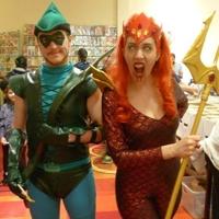 Atlanta comic convention cosplay mera and arrow big thumb