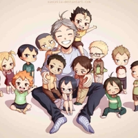 Haikyuu moms karasuno family photo by suncelia daenczs big thumb