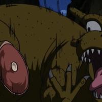 Gohan dinosaur big thumb