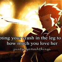 Shooting your crush in the leg big thumb