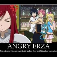 Angry erza big thumb