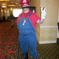 Mario big thumb