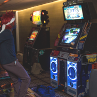 Arcade big thumb