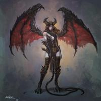 Everna succubusqueen daughter of the devil by kekse0719 d6ink7b big thumb