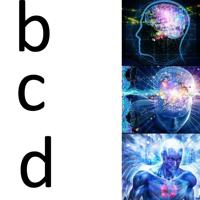 Abcd e big thumb